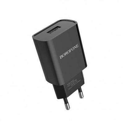 Сетевая зарядка USB блок Borofone A20A 2.1A в Москве